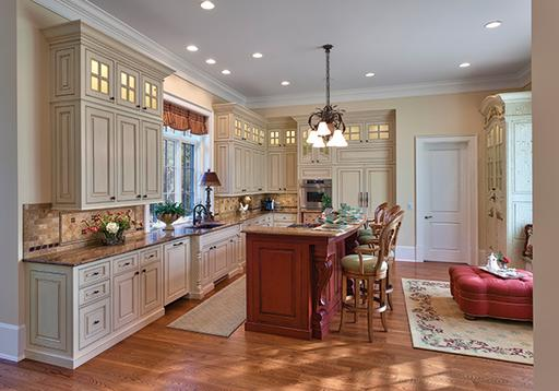 LMI Studios Inc. Featured In Carolina Home And Garden Magazine For Custom  Cabinetry Finishes In A Stunning Asheville, North Carolina Kitchen.